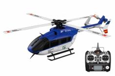 XK Innovations Hubschrauber K124 Scale-Helicopter EC145 RTF mit FTR
