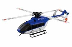 XK Innovations Hubschrauber K124 Scale-Helicopter EC145 BTF mit FTR