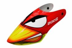 Lionheli Fiberglass Haube Angry Bird für den Blade 200S