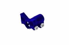 Rakonheli Heckrohrhalterung in blau für Blade Nano CPS