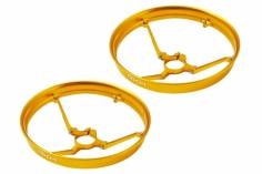 Rakonheli 7mm Motor Rahmen Propellerschützer in gelb für Blade Inductrix
