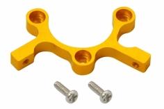 Rakonheli Ersatz Motorhalterung in gelb für den 60mm Prop.schützer für Nano QX2