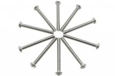 Linsenkopfschrauben Sechskant M3x30mm 10 Stück