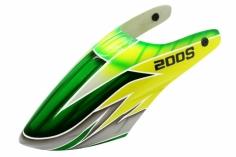 Lionheli GFK Haube Design 04 grün/gelb/grau für den Blade 200S