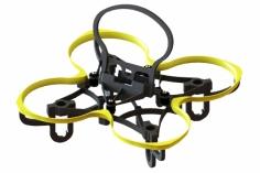 Lynx Spider 65 FPV Racer Rahmen in gelb für Blade Inductrix FPV