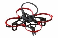 Lynx Spider 65 FPV Racer Rahmen in rot für Blade Inductrix FPV