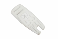 OXY Ersatzteil Rotorblattauflage Ninja Flex in weiß für den OXY3