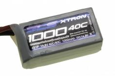 SLS Akku XTRON 1000mAh 4S1P 14,8V 40C/80C