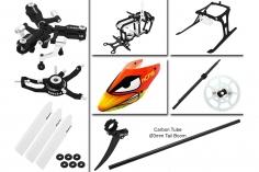 Rakonheli Tuning Set mit 3 Blatt Kopf in schwarz für Blade Nano CPs