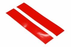 OXY Ersatzteil Aufkleber für Heckrohr in orange 2 Stück für OXY 3