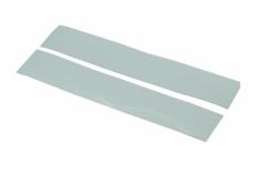 OXY Ersatzteil Aufkleber für Heckrohr in weiß 2 Stück für OXY 3
