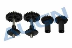 Align Vorderes Heckrotorgetriebe für Starrantrieb mit 28 Zähnen und 0,6 Modul fü