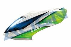 Align Kabinenhaube grün/weiß für T-REX 470L
