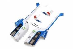 XK Innovations Ersatzteil Rumpf Heckteile für K124 EC-145