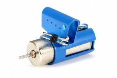 XK Innovations Ersatzteil Heckmotor mit Halterung für K124 EC-145