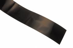 Schrumpfschlauch 69mm Flachmaß 1m leicht transparent schwarz