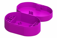 Lynx Transportbox in violette für Blade Inductrix FPV, Spider 65, Tyni Whoop