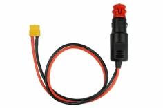 iSDT Anschlusskabel XT60 Buchse auf Zigarettenanzünder Stecker 180W für iSDT
