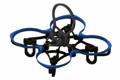 Lynx Spider 65 FPV Racer Rahmen in blau für Blade Inductrix FPV