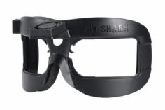 Fatshark Face Plate / Frontplatte mit Lüfter in schwarz für Dominator V2 / V3 / HD / HD2 / HDO