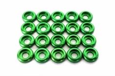 OXY Ersatzteil Unterlegscheiben M2 in grün für OXY3 Green Lantern Edition