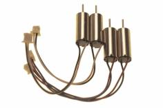 Lynx Brushed Motor Set 2xcw und 2xccw 6x15mm 19000kV für Blade Inductrix und Inductrix FPV
