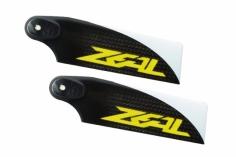 ZEAL Carbon Heckrotorblätter 110mm 2 Stück gelb