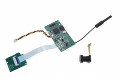 FPV Kamera und Videosender mit Speicherkartenslo für den Shuttle X252 FPV-Copter