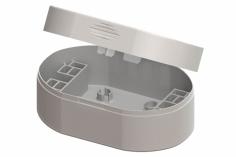 Lynx Transportbox in weiß für Blade Inductrix FPV, Spider 65, Tiny Whoop