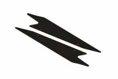 OXY Ersatzteil Landegestell für OXY3 Speed Rumpf