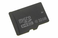 Speicherkarte Micro SD mit 32GB