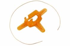 Rakonheli Kamerahalterung mit 10° Neigungswinkel in oran für Blade Inductrix FPV