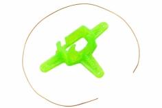 Rakonheli Kamerahalterung mit 10° Neigungswinkel in grün für Blade Inductrix FPV und Rakonheli Brushless Whoop FPV