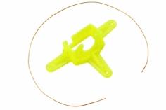 Rakonheli Kamerahalterung mit 10° Neigungswinkel in gelb für Blade Inductrix FPV