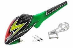 Lionheli Speed Rumpf im rot -grün Design für den Blade 250CFX