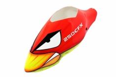 Lionheli Speed Rumpf Ersatzhaube im Angry Birds Design  für den Blade 250CFX 250