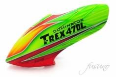 Fusuno Rocket Airbrush fiberglas Haube für T-REX 470L