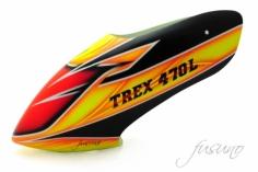 Fusuno Fire Airbrush fiberglas Haube für T-REX 470L