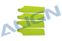 Align Heckrotorblatt in fluoreszierend gelb 69mm