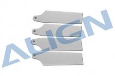 Align Heckrotorblätter in weiß 69mm für T-REX 450L und 470L