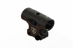 OXY Ersatzteil Rotorkopf aus CNC Alunimium in schwarz für OXY2