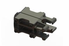 OXY Ersatzteil 3D Heckrohrhalterung in schwarz für OXY2