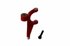 OXY Ersatzteil Heckanlenkarm aus CNC Aluminium in rot für OXY2