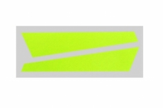 OXY Ersatzteil Aufkleber in gelb für die vertikale Finne für OXY2