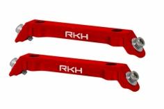 Rakonheli Ersatzlandegestellhalterung aus CNC Aluminium rot für den Blade 130S