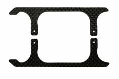 Rakonheli Landegestell Ersatzkufen in schwarz für Blade 130s