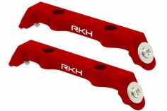 Rakonheli Ersatzlandegestellhalterung aus CNC Aluminium rot für den Blade 120S und 120 S2