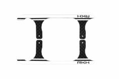 Rakonheli Landegestell Ersatzkufen in weiß für Blade 120 S