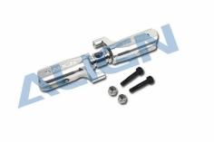 Align Heckrotorblatthalter V2 in silber für T-REX 550 und 600