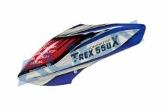 Align Kabinenhaube weiß,blau,rot lackiert für T-REX 550X und 550L